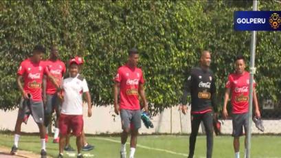 Selección Peruana suma un día más de entrenamiento