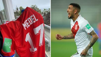 Perú vs Chile: ¿a quién le regaló Gary Medel su camiseta tras el partido?