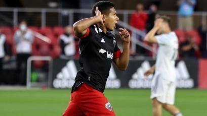 Selección Peruana: Edison Flores anotó su primer gol en la MLS con el DC United (VIDEO)