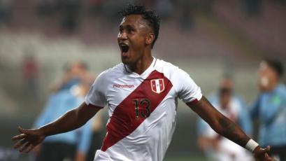 Selección Peruana: Renato Tapia anotó de chalaca el 1-0 frente a Uruguay (VIDEO)