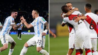 Argentina vs Perú: estas son las posibles alineaciones de ambas selecciones