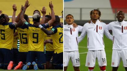 Clasificatorias Sudamericanas: así alinearían Ecuador y Perú esta tarde en Quito