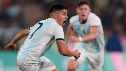 Lima 2019: Argentina ganó la medalla de oro al vencer 4-1 a Honduras en la final de fútbol