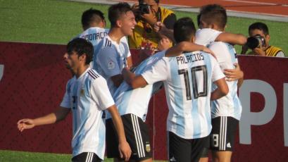 Sudamericano Sub 17 Perú 2019: Argentina goleó 3-0 a Paraguay y clasificó al mundial (VIDEO)