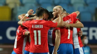 Perú vs Paraguay: así fue el gol de Gustavo Gómez por los cuartos de final de la Copa América (VIDEO)