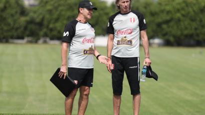 Selección Peruana y el segundo día de entrenamientos