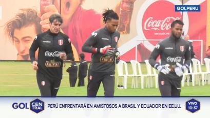 Selección Peruana: Óscar Ibáñez dirigió su primera práctica con Pedro Gallese y Carlos Cáceda (VIDEO)