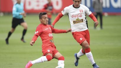 Selección Peruana venció 1-0 a la Sub 20 en un amistoso jugado en La Videna