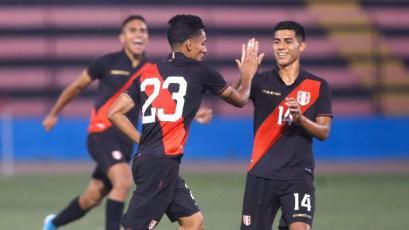 Selección Peruana Sub-23 ganó su segundo amistoso frente a El Salvador