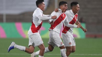 Selección Peruana: Jordan Guivin liquidó a Honduras con exquisito golazo de tiro libre (VIDEO)