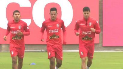 Selección Peruana: Flores, Santamaría y Da Silva realizaron trabajos físicos en La Videna