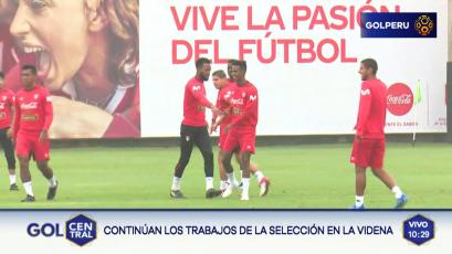 Selección Peruana continúa trabajando en la Videna