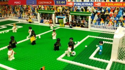 Selección Peruana: recrean golazo de Christian Cueva a Costa Rica al estilo Lego (VIDEO)