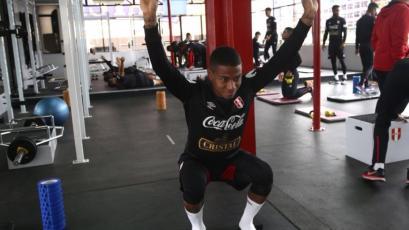 Andy Polo se sumó a los entrenamientos de la Selección Peruana
