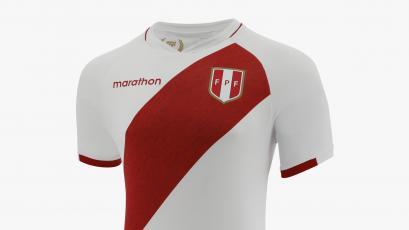 Selección Peruana: se presentó la nueva camiseta para las Eliminatorias Qatar 2022
