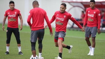 Selección Peruana: El entrenamiento luego de la derrota ante Dinamarca