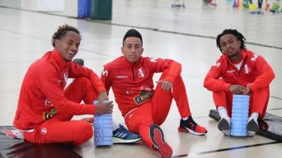 Selección Peruana: El equipo entrenó con tres posibles cambios para enfrentar a El Salvador