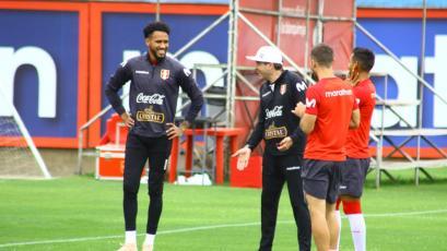 Selección Peruana y su quinto día de entrenamiento