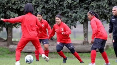 Lima 2019: el buen ambiente de la Selección Peruana femenina en el último ensayo de cara al debut (FOTOS)