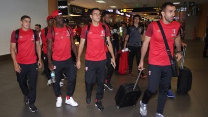 Selección Peruana partió rumbo a Estados Unidos