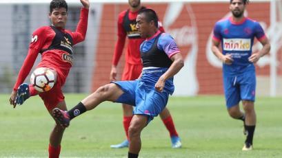 Selección Peruana Sub 20 disputó su tercer amistoso ante Sport Boys