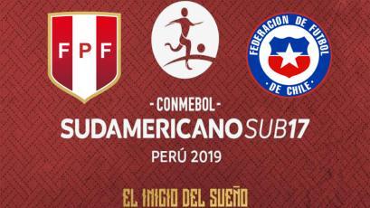 Sudamericano Sub-17: Selección Peruana enfrenta a Chile