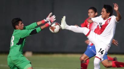 La Sub-17 perdió con Costa Rica en su segundo amistoso de la semana