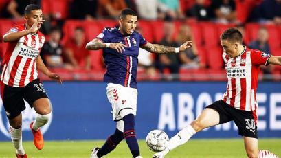 Sergio Peña fue elegido entre los mejores jugadores de la jornada en los Países Bajos