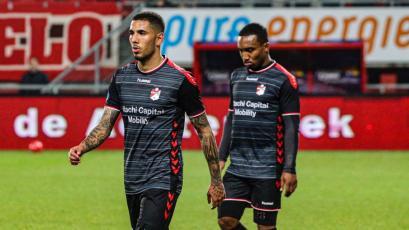 Sergio Peña no pudo evitar la eliminación del FC Emmen en la Copa de Holanda