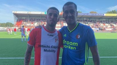 Golazo de Sergio Peña con el Emmen de Holanda ante el Feyenoord de Renato Tapia (VIDEO)