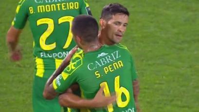 Sergio Peña fue titular en empate del Tondela