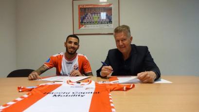 Sergio Peña firmó 3 años por el FC Emmen de la Primera División de Holanda (VIDEO)