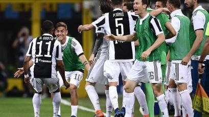 Serie A: Juventus vence al Inter y pone la pelea por el título en suspenso