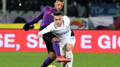 Serie A: Fiorentina e Inter igualaron 3-3