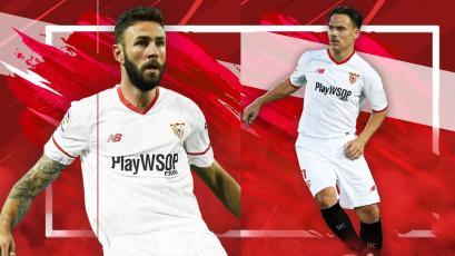 Sevilla presenta a sus dos nuevos jugadores