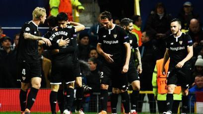 Champions League: Sevilla da el golpe y elimina al Manchester United