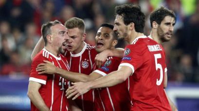 Champions League: Bayern asalta al Sevilla como visitante
