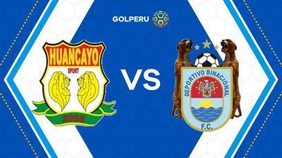 Sport Huancayo y Binacional se miden en la 'Incontrastable'
