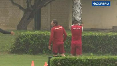 Universitario de Deportes entrenó con presencia de un defensa paraguayo en Campo Mar, ¿refuerzo?