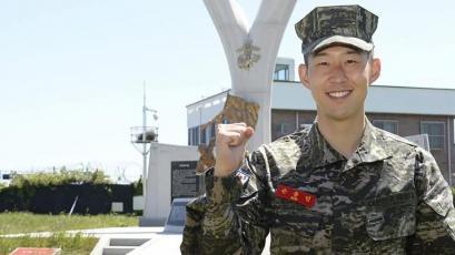 Heung-Min Son cumplió el servicio militar en Corea y puede volver al fútbol