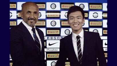 Luciano Spalletti renueva con Inter de Milán hasta 2021