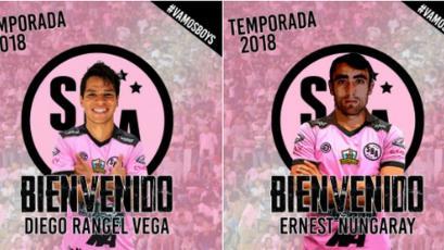 Sport Boys se refuerza con dos mexicanos del Morelia