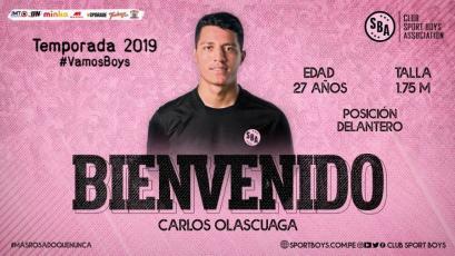 Sport Boys: Carlos Olascuaga es la última incorporación en el Callao