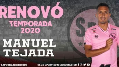 Sport Boys: Manuel Tejada seguirá bajo las órdenes de Marcelo Vivas en el 2020