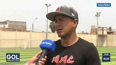 Sport Huancayo: Marcio Valverde reveló por qué no pudo ser titular en el 2019