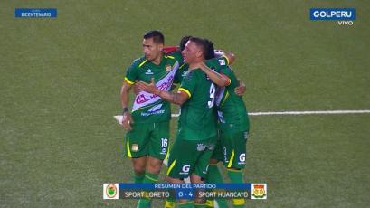 Sport Huancayo goleó 4-0 a Sport Loreto y se clasificó a cuartos de la Copa Bicentenario