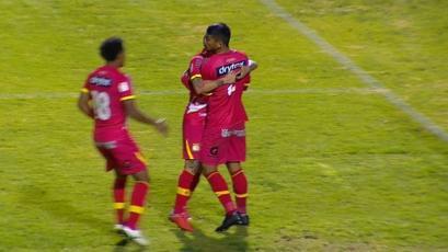 Sport Huancayo superó a Santos FC en la Copa Bicentenario y ayudó a Municipal