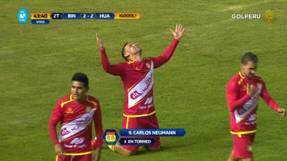 Sport Huancayo empató sobre el final en casa de Binacional