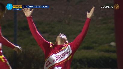 Sport Huancayo venció a la Academia Cantolao con gran actuación de Marcio Valverde