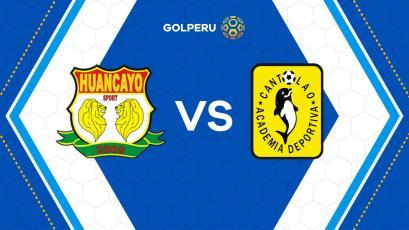 Sport Huancayo recibe a Academia Cantolao en el cierre de la fecha 5 del Torneo Apertura